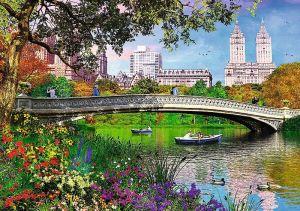 Puzzle Trefl 1000 dílků - New York - Central Park 10467