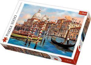 Puzzle Trefl 1000 dílků - Odpoledne v Benátkách - Canal Grande 10460