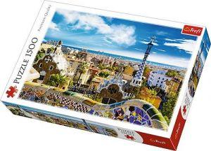 Puzzle Trefl 1500 dílků -  Guell park - Barcelona   26147