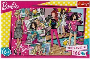 Puzzle Trefl 160 dílků - Módní Barbie  15362
