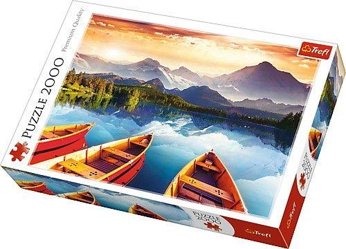 Puzzle Trefl 2000 dílků - Krystalové jezero 27096