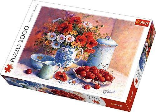 Puzzle Trefl 2000 dílků - Trisha Hardwick - Sladké odpoledne 27093