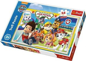 Puzzle Trefl 24 MAXI dílků  - Paw Patrol - Tlapková patrola  14287