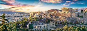 puzzle Trefl 500 dílků panorama - Akropolis , Atény - 29503