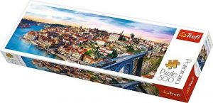 puzzle Trefl 500 dílků panorama - Porto , Portugalsko  - 29502