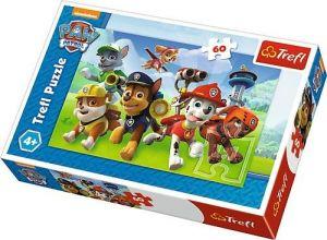 Puzzle  Trefl  60 dílků  -  Paw Patrol - Tlapková patrola 17321