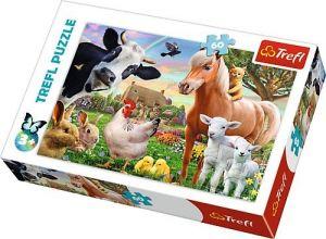 Puzzle  Trefl  60 dílků  -  Veselá farma  17320
