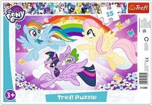 Puzzle Trefl v rámečku ( rámkové ) - My Little Pony   31280