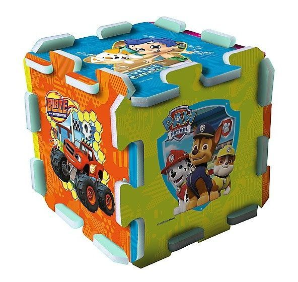 Trefl - Pěnové puzzle - Nickelodeon - Paw Patrol, Blaze, Bubble Guppies, Dora 60847