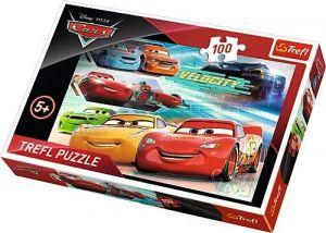 Trefl Puzzle 100 dílků - CARS - Auta 3  -  16337