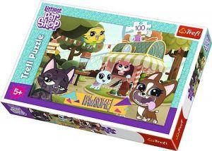Trefl Puzzle 100 dílků - Littlest  Pet Shop   16338