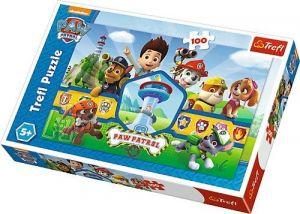 Trefl Puzzle 100 dílků - Paw Patrol - Tlapková patrola  -  16351