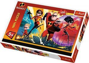 Trefl Puzzle 100 dílků - Úžasňákovi  2 -  16350