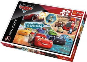 TREFL Puzzle 260 dílků - Auta - CARS 3 - galerie vítězů 13239