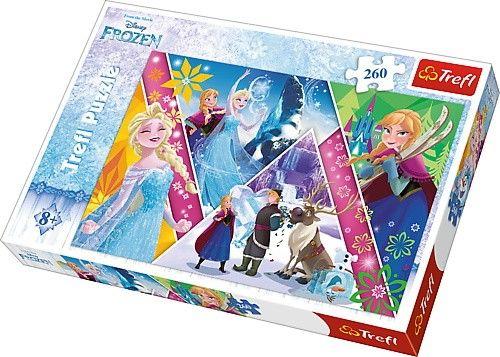 TREFL Puzzle 260 dílků - Frozen - Ledové království 13238