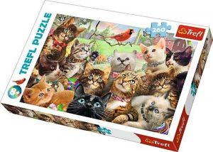 TREFL Puzzle 260 dílků - Kočičky 13241