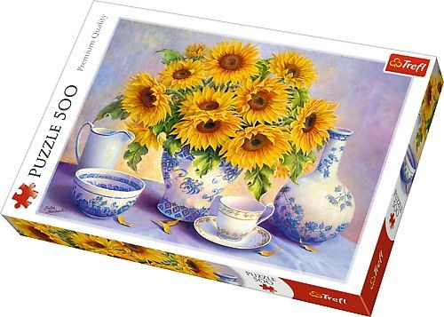 TREFL Puzzle 500 dílků - Trisha Hardwick - Slunečnice 37293