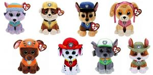 TY Beanie Babies - PAW PATROL Chase 15 cm - 41208 TY Inc. ( Meteor )