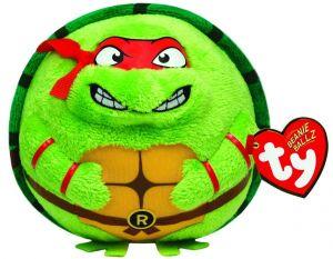 TY Beanie Ballz - plyšák / míč 12 cm  TMNT - Raphael  38254