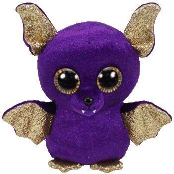 TY Beanie Boos - Count - fialový netopýr 36209 - 15 cm plyšák TY Inc. ( Meteor )