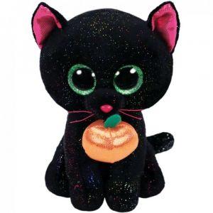 TY Beanie Boos - Potion - černá kočka s dýní  36210  - 15 cm plyšák