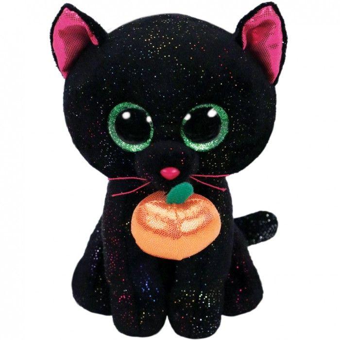 TY Beanie Boos - Potion - černá kočka s dýní 36210 - 15 cm plyšák TY Inc. ( Meteor )