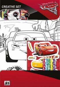 CARS - Auta 3 - omalovánkový set + pastelky