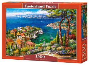 Castorland Puzzle 1500 dílků Francouzská riviéra 151776