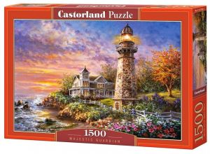 Castorland  Puzzle 1500 dílků   Majestátný maják   151790