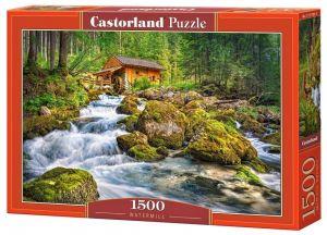 Castorland  Puzzle 1500 dílků  Vodní mlýn   151783