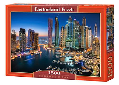 Castorland Puzzle 1500 dílků Mrakodrapy v Dubaji 151813