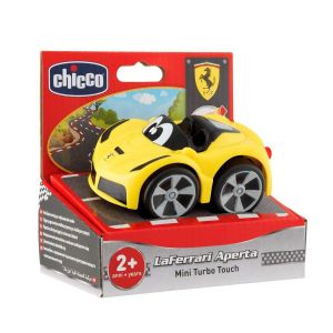 CHICCO Turbo Touch Auto Ferrari žluté