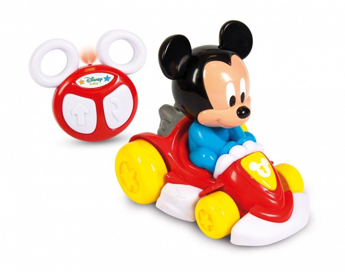 Clementoni Baby - RC autíčko Toy Cart - Mickey 17232