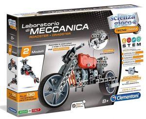 Clementoni - mechanická laboratoř  - dragstery   60955