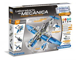 Clementoni - mechanická laboratoř  - letadla a helikoptéry    60950