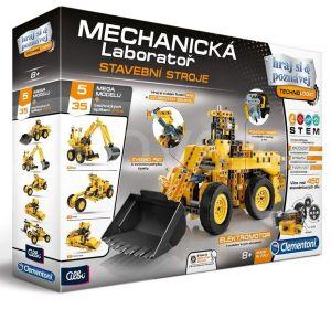 Clementoni - mechanická laboratoř  - stavební stroje   60465