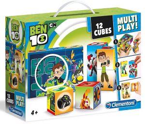 Clementoni - multi-play kostky - Ben10  41507