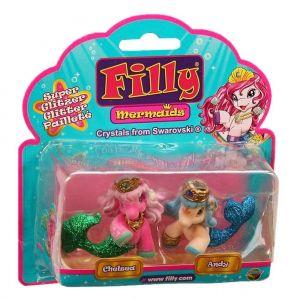 Filly Mermaid - sada 2 figurek - Chelsea + Andy