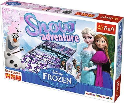 Hra Trefl - Ledové království - Frozen - Sněhové dobrodružství 01292