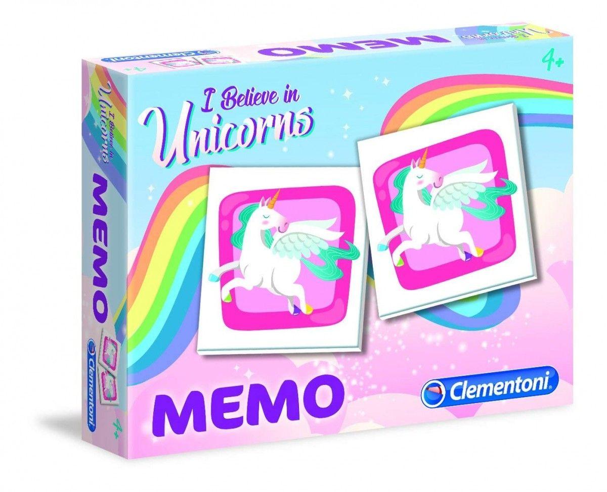 Obrázkové pexeso ( memo ) Clementoni - Jednorožec 18032