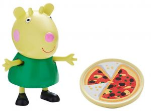 Peppa Pig - prasátko Peppa - figurka s doplňky II.  koza Gabriela s pizzou