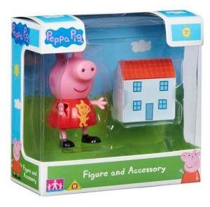 Peppa Pig - prasátko Peppa - figurka s doplňky II.  Peppa s domečkem