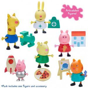 Peppa Pig - prasátko Peppa - figurka s doplňky II. žirafa Gerald s vláčkem TM Toys