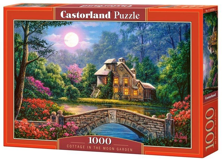 Puzzle Castorland 1000 dílků - Chalupa v měsíční zahradě 104192