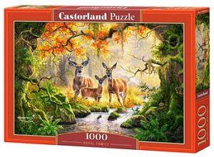 Puzzle Castorland  1000 dílků - Královská rodina   104253