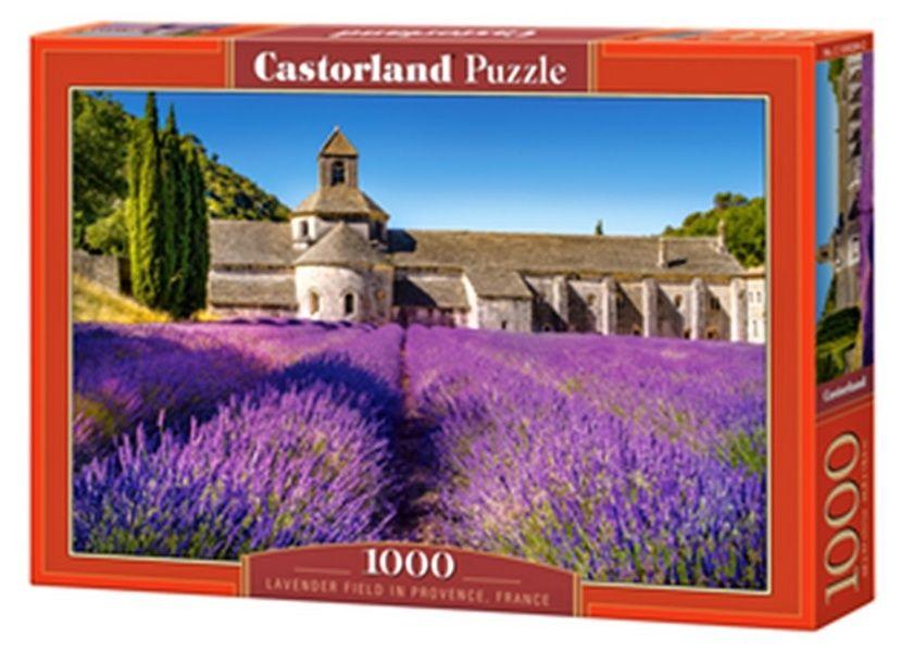Puzzle Castorland 1000 dílků - Levandulové pole v Provence 104284