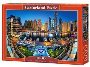 Puzzle Castorland  1000 dílků - Přístav v Dubaji   104222