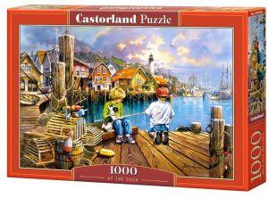 Puzzle Castorland  1000 dílků - V  přístavu   104192