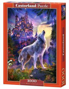 Puzzle Castorland  1000 dílků - Vlk pod hradem   104178