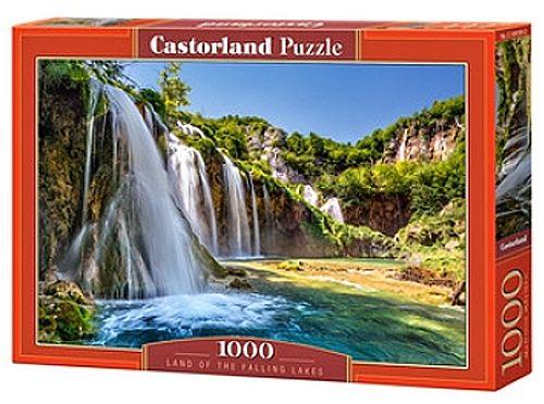 Puzzle Castorland 1000 dílků - Země vodopádů 104185